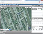 gps livetracking demo-screen